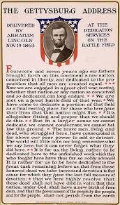 best the gettysburg address ideas gettysburg  patriotic decor abraham lincoln gettysburg address parchment print poster 1381