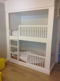 Built In Bed Plans Appealing Diy Built In Bunk Beds Plans Pics Design Ideas Amys Office