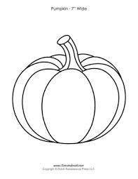 pumpkin template printable pumpkin templates paper pumpkins printables for halloween pdf on 3 7 8 inch printable template