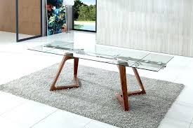 extendable glass dining table modern design ideas top room tables kitchen for and chairs extendab