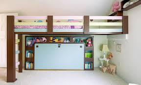 Kids Murphy Bed Built Into Wall