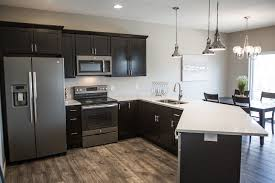Kitchens With Slate Appliances Beautiful Finished Kitchen With Ge Slate Appliances Kitchens