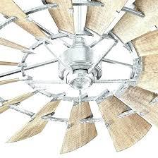 ceiling fan galvanized steel outdoor 9 light bucket