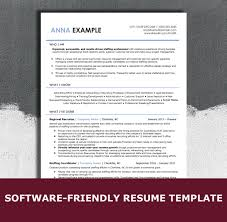 Ats Friendly Resume Template 2