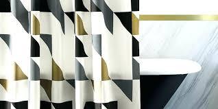 white gold shower curtain bathroom random black white gold shower curtain modern curtains white gray and