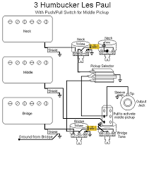 3 humbucker les paul wiring question but it is a fairly common diagram and it doesn t matter which one is the push pull the dpdt switch and potentiometer are completely independent pieces