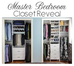 Superior Master Bedroom Closet Reveal On Organizing Homelife