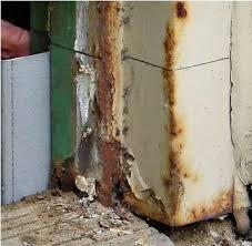 commercial steel entry door jamb repair