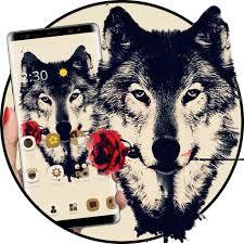 Tattoo Rose Romantic Wolf Theme Aplikace Na Google Play
