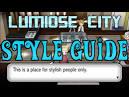 Pokemon x y lumiose city stylish