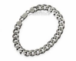 Широкий мужской <b>браслет</b> панцирного <b>плетения</b>, серебро ...