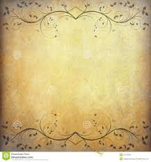 Download Paper Old Paper Background With Vintage Flower Stock Image Image