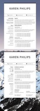 Instant Resume Templates Impressive Professional Resume Template Resume Instant Download 48 Page Resume