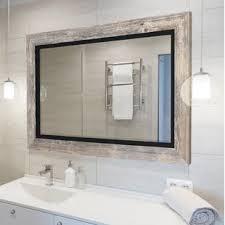 Image Industrial Hilde Bathroom Mirror Wayfair Bathroom Mirror Sale Youll Love Wayfair