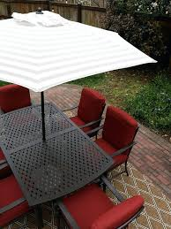 fresh hampton bay patio umbrella and the patio umbrella bay oak cliff 7 piece metal outdoor