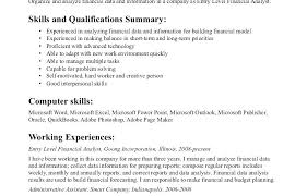 Job Objectives For Resume Examples Resume Bank