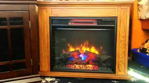 full review duraflame infared electric fireplace spectrafire plus reviews consumer reports flame effect oak ash mantels