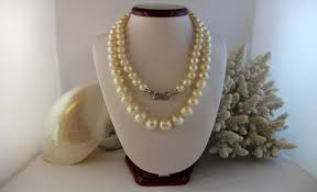 899 00 south sea pearls with a figure 8 clasp