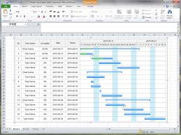 Create Gantt Chart For Excel