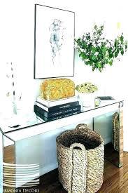 basket under table baskets coffee round wicker wire decor for aldi