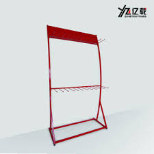 Wiper Blade Display Stand Car Accessories Shop Metal Wiper Display Rackretail Floor Wiper 15