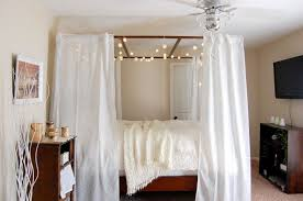 Bedroom Princess Veil For Bed Canopy Over Twin Bed Canopy Netting ...