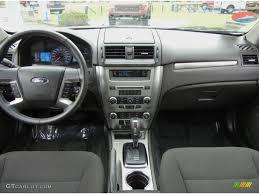 2010 Ford Fusion Hybrid Charcoal Black Dashboard Photo #69793759 ...