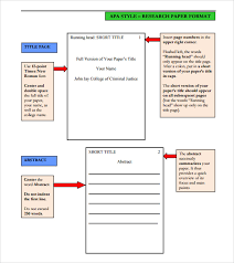 Apa Format Version 6 Template Free 6 Sample Apa Format Templates In Pdf Word