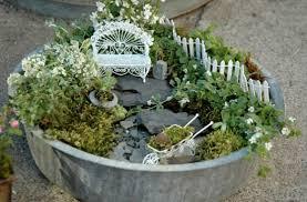 5 fairy gardens