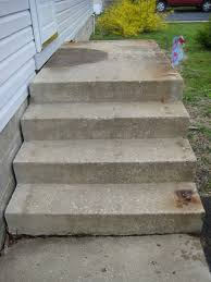 Cinder Block Stairs Refinishing Concrete Steps Doityourselfcom Community Forums