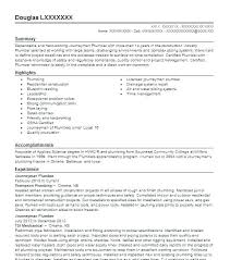 Sample Plumbing Cover Letter Sample Cover Letter For Plumber Apprentice Plumbing The Resume