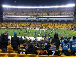 Pittsburgh Heinz Field Seating Chart Heinz Field Section 112 Home Of Pittsburgh Steelers