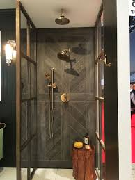 Tile shower images Farmhouse View In Gallery Homedit 15 Wood Tile Showers For Your Bathroom