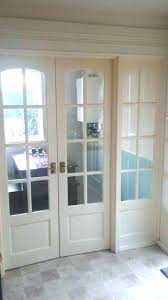 interiror door glass panel interior door with side internal french doors and slab clear 3 pa