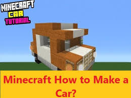 how to make a car in minecraft. Simple Minecraft Minecraft How To Make A Car A Complete StepbyStep Guide  All  Guides For To Car In