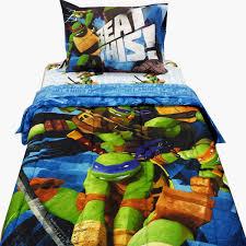 4pc teenage mutant ninja turtles twin bedding tmnt