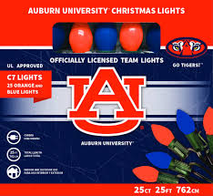 Auburn Football Christmas Lights Auburn University Christmas Lights