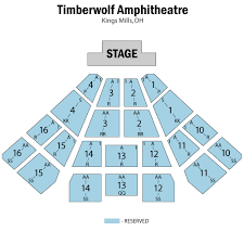 Timberwolf Amphitheatre Seating Chart Scareowinds Tickets Online Discount