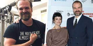 David Harbour Says His Wife Lily Allen ...