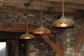 ironglass brown barn light pendants stone bricks exterior furniture featuring home decoration steel bronze