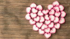 romantic sweet candy sweet love heart