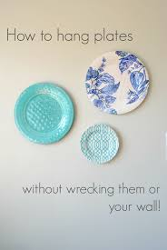 decorative plates for wall hanging photos and door