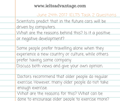ielts essay topics with answers ielts task 2 sample answer self driving cars ielts advantage