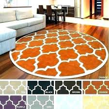 rug 6 ft square area rugs foot round
