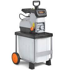 garden shredder. VonHaus 2800W Garden Shredder / Rapid Waste Electric Cutter /Chipper Mulcher