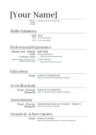 Free Resume Builder Template Custom Free Resume Builder Template Free Resume Templates For Template Open