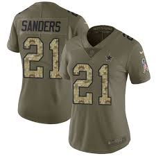 Sanders Wholesale Youth Cheap Free Jerseys Jersey Shipping Deion Nfl Authentic Women's Cowboys