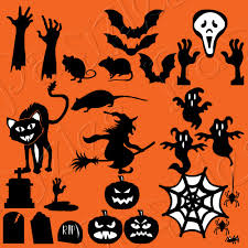 The file is in black and white for you to color as you wish. Halloween Silhouettes Cutting Collection Pazzles Craft Room