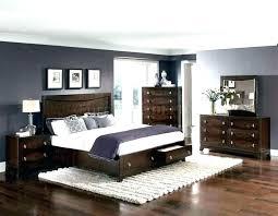 white bedroom with dark furniture. Gray White Bedroom With Dark Furniture A
