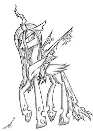 Holiday Coloring Pages » Queen Chrysalis Coloring Pages - Free ...